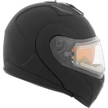 Solid - Electric Double Shield CKX Tranz 1.5 RSV Modular Helmet, Winter