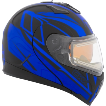 Evolve - Electric Double Shield CKX Tranz 1.5 RSV Modular Helmet, Winter