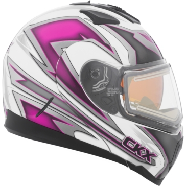 Yan - Electric Double Shield CKX Tranz 1.5 RSV Modular Helmet, Winter