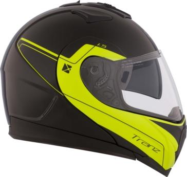 Tech - Single Shield CKX Tranz 1.5 RSV Modular Helmet, Summer