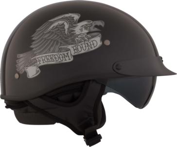 Freedom Bound CKX Revolt RSV Half Helmet