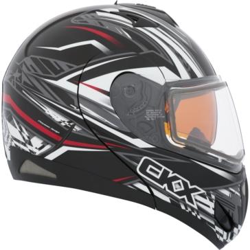 CKX Tranz RSV - Modular Helmet, Winter Bolt