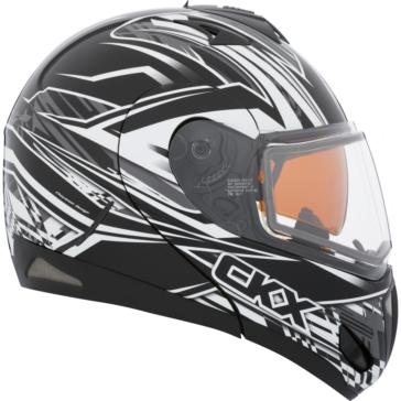 Bolt - Double Shield CKX Tranz RSV - Modular Helmet, Winter