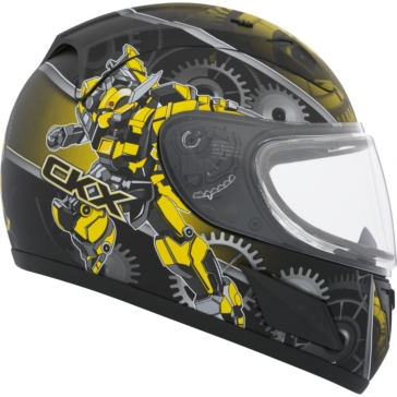 Mecanic CKX RR601Y Full-Face Helmet, Winter - Youth