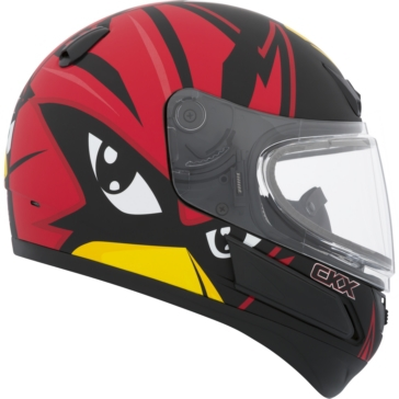 CKX VGK1 Full-Face Helmet, Winter - Youth Raven