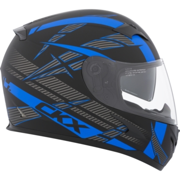Drift - Single Shield CKX RR610 RSV Full-Face Helmet, Summer