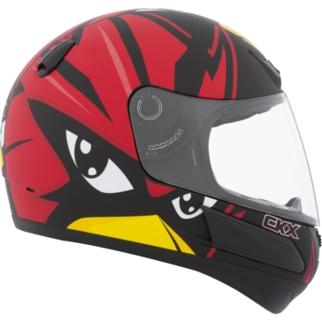 CKX VGK1 Full-Face Helmet, Summer - Youth Raven