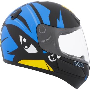 CKX Casque Intégral VGK1, été - Junior Raven - Été