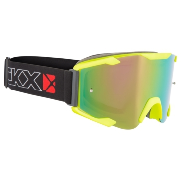 Matte yellow High Visibility CKX Ghost Goggles, Summer