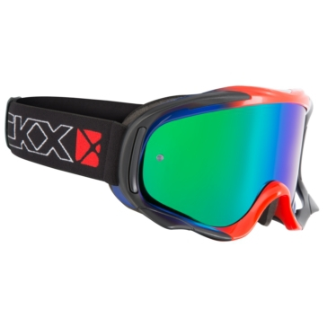 CKX Falcon Goggles, Summer Blue, Red