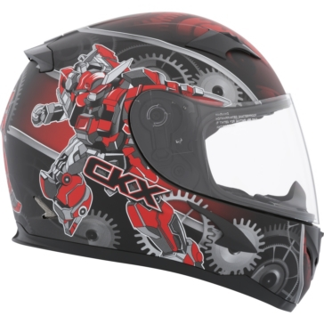 Mecanic - Single Shield CKX RR610Y Full-Face Helmet, Summer - Youth