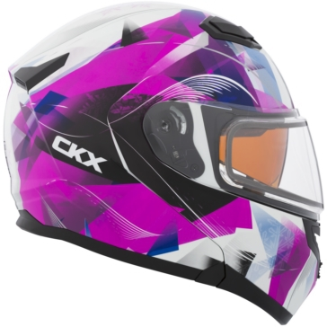 CKX Flex RSV Modular Helmet, Winter Flake