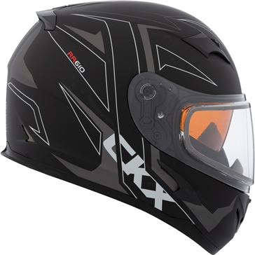 CKX RR610 RSV Full-Face Helmet, Winter Streak