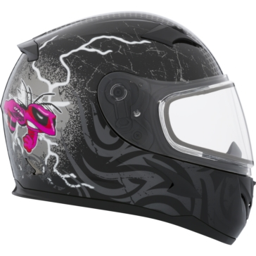 CKX RR610Y Full-Face Helmet, Winter - Youth Mad Bee
