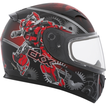 CKX RR610Y Full-Face Helmet, Winter - Youth Mecanic