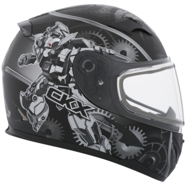 Mecanic CKX RR610Y Full-Face Helmet, Winter - Youth