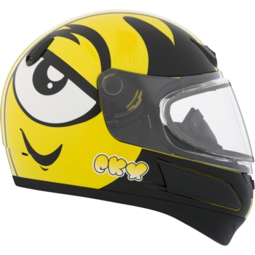 CKX VGK1 Full-Face Helmet, Winter - Youth Ink - Winter