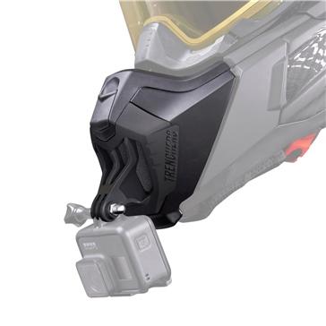 CKX TRENCHERS MUZZL - Muselière avec support de caméra pour casque Titan
