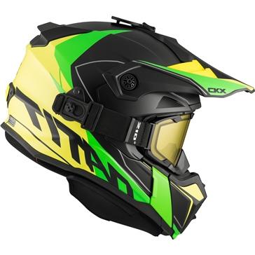 CKX Titan Original Backcountry Helmet, Winter Cliff - Included 210° Goggles