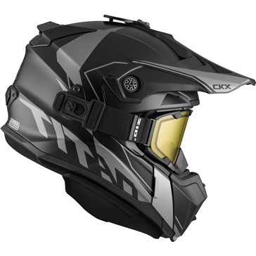 CKX Titan Original Backcountry Helmet, Winter Cliff - Included 210° Goggles