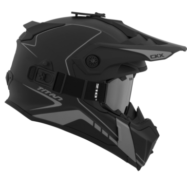 Atlas - Included 210° Goggles CKX Titan Off-Road Modular Helmet, Winter