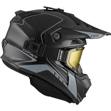 Atlas - Included 210° Goggles CKX Titan Off-Road Modular Helmet, Winter