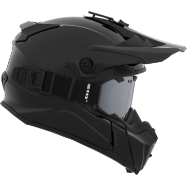 Solid - Included 210° Goggles CKX Titan Off-Road Modular Helmet, Winter