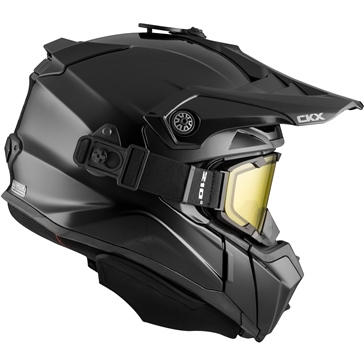 CKX Titan Backcountry Helmet, Winter Solid - Included 210° Goggles