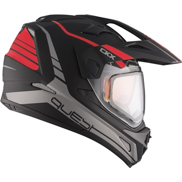 CKX Quest RSV Backcountry Helmet, Winter Straightline