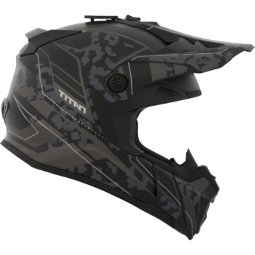 CKX Titan Backcountry Helmet, Summer Sandstorm - Without Goggle