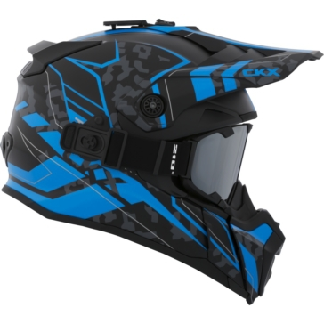 CKX Titan Off-Road Helmet, Summer Sandstorm - Included 210° Goggles