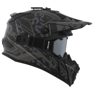 CKX Titan Off-Road Modular Helmet, Summer Sandstorm - Included 210° Goggles