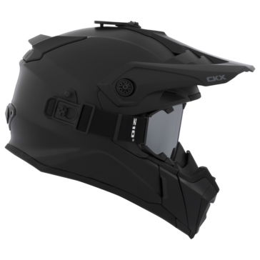 CKX Titan Off-Road Modular Helmet, Summer Solid - Included 210° Goggles