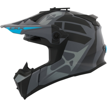 Abyss - Sold separately CKX Titan Off-Road Modular Helmet, Winter
