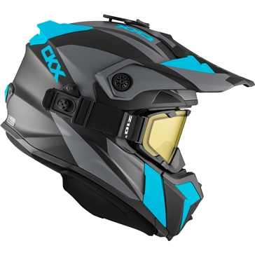 CKX Titan Backcountry Helmet, Winter Sidehill - Included 210° Goggles