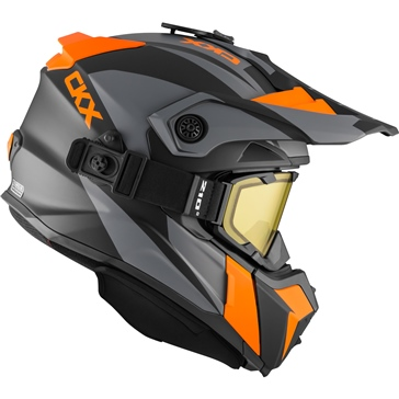 CKX Titan Off-Road Modular Helmet, Winter Sidehill - Included 210° Goggles