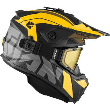 CKX Titan Original Backcountry Helmet, Winter Altitude - Included 210° Goggles