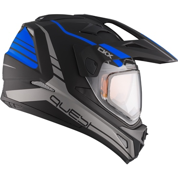 CKX Quest RSV Off-Road Helmet, Winter Straightline