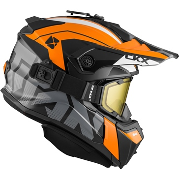 CKX Titan Off-Road Modular Helmet, Winter Altitude - Included 210° Goggles