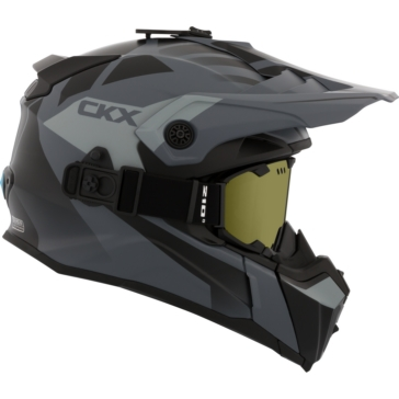 Abyss - Included 210° Goggles CKX Titan Off-Road Modular Helmet, Winter