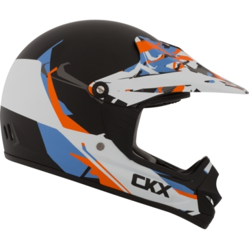CKX TX218Y Off-Road Helmet - Youth Block