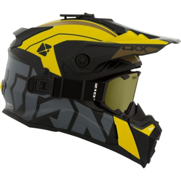 Altitude - Included 210° Goggles CKX Titan Air Flow Off-Road Modular Helmet, Winter
