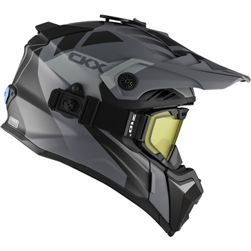 Abyss - Included 210° Goggles CKX Titan Air Flow Off-Road Modular Helmet, Winter