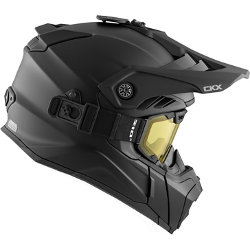 CKX Titan Air Flow Backcountry Helmet, winter Solid - Included 210° Goggles