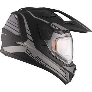 CKX Quest RSV Backcountry Helmet, Winter Straightline - Without Goggle