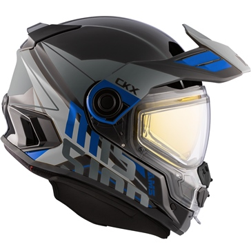 CKX Mission AMS Full Face Helmet Ramble