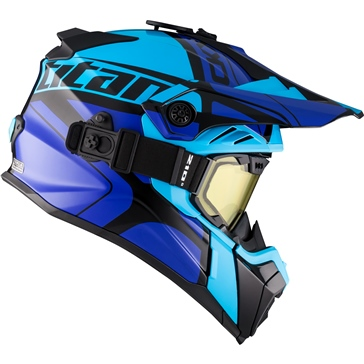 CKX Titan Air Flow Backcountry Helmet Hopover - Included 210° Goggles
