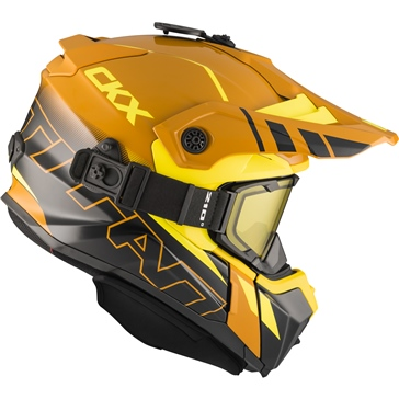 CKX Titan Original Backcountry Helmet, Winter Avalanche - Included 210° Goggles
