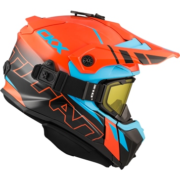 CKX Titan Original Backcountry Helmet, Winter Avalanche - Included 210° Goggles