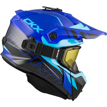 CKX Titan Backcountry Helmet, Winter Avalanche - Included 210° Goggles